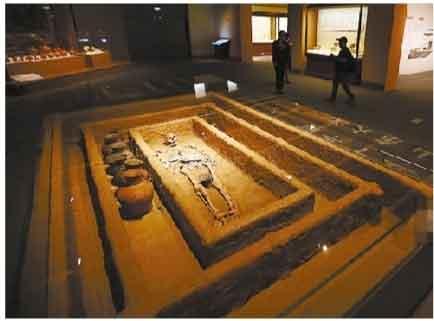 """五千年前""""山东大汉""""身高近两米"""